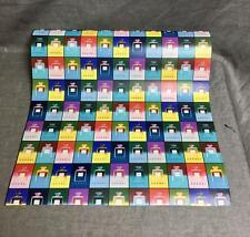 """Very Rare Chanel No 5 Andy Warhol Gift Wrapping Paper 12"""" x 18"""""""