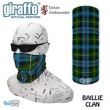 Baillie Clan Scottish Tartan Multifunctional Headwear Neckwarmer Snood Bandana