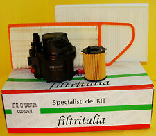 Filtri Tagliando Kit 4 pezzi Peugeot 307 1.4 Hdi