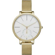 NEW SKAGEN WATCH for Women * Hagen Gold Steel Mesh Bracelet * SKW2436 MSRP $185