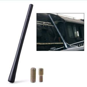 "1pc Black Rubber 8"" Aerial Antenna Mast Auto AM/FM Radio Short Stubby Durable"