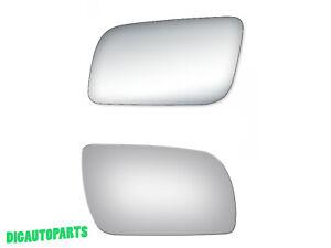 Pair Set Mirror Glass for CHEVY GMC C/K 1500 2500 3500,Suburban,Blaze,Yukon LHRH