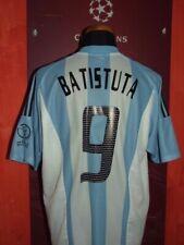 BATISTUTA ARGENTINA WC 2002 MAGLIA SHIRT CALCIO FOOTBALL JERSEY CAMISETA SOCCER