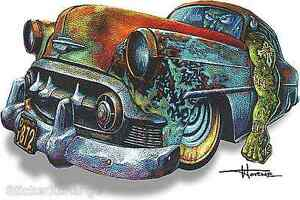 Hot Rod Monster Sticker Decal Artist Doug Horne H27 Roth Like