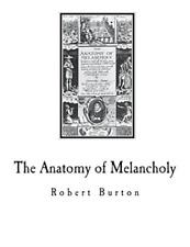 Burton Robert-Anatomy Of Melancholy BOOK NEW