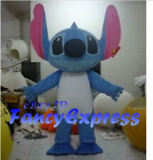 Stitch Mascot Costume  Halloween Cosplay Party Fancy Dress Adult Outfit