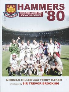 Hammers-80: West Ham United FA Cup Winning Season Football History Book