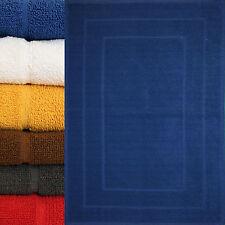 Duschvorleger, Badematte, 50x70 cm, Frottier, Frottee, Badvorleger einfarbig,uni