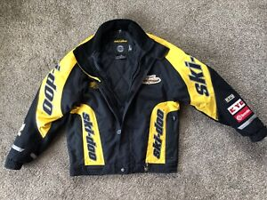 Ski-Doo Bombardier DuPont Thermolite Plus Racing Yellow/Black Jacket Men's S