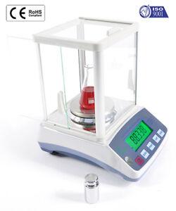 Analytical Lab Balance 1000g x 0.01g Electronic Mass Digital Tare Portable
