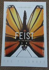 FEIST FILLMORE POSTER Long Winters ORIGINAL Bill Graham F803 Lynne Porterfield