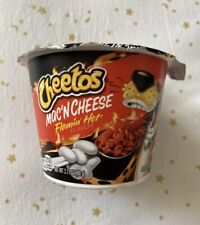 New listing Cheetos Mac And Cheese Flamin Hot Cup! Sold Out In Stores!New!Same Day Shipping