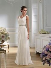 Ronald Joyce Plunging Wedding Dresses