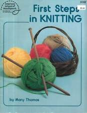 First Steps In Knitting & 5 Great Projects