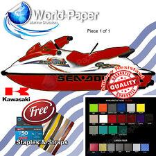 GS GSX RFI SEADOO MAROON Seat Skin Cover 97 98 99 00 01, Free Strap & Staples :)