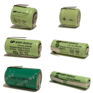 Small Tagged Ni-MH Batteries 1.2 V Cells for Custom Light NiMH RC Battery Packs