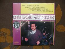 CD SINGLE RICHARD ANTHONY - J'Irai Twister Le Blues  4 TRACK CARD SLEEVE/Reissue