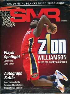 October 2020 SMR Sports Market Report Price Guide New Never Read Sealed Zion