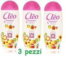 3 x Shower Cream Shower Body Cream Cleo Johnson's Delight Fruit Shower Gel