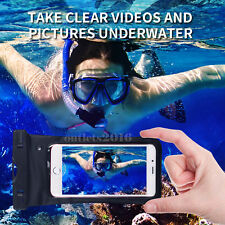 Underwater Waterproof Case Bag Dry Pouch F Phone iPhone 6s 7 Plus Samsung Note 8