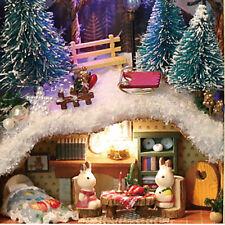 1* Cute DIY Tin Box Miniature 3D-Doll House Kit Theatre Series Small Handcraft