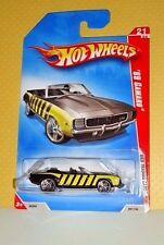 2008 Hot Wheels Web Trading Cars #097 '69 Camaro - Bumble Bee Black - Variant