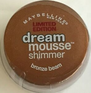 ORIGINAL MAYBELLINE DREAM MOUSSE SHIMMER BRONZE BEAM NEW FREE SHIPPING USA RARE