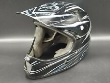 FOX Rampage DH Downhill Motocross Mountain Bike Black Helmet - Medium 57-58cm