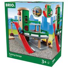 Brio 33204 garaje de estacionamiento de trenes de madera Set