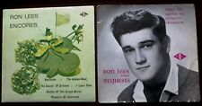 "RON LEES  2 X EPs ""Encores"" & ""Requests 45 RPM  W&G Records 1960s TV Favourite"