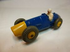 DINKY TOYS 23H FERRARI RACE CAR - F1 BLUE  - GOOD CONDITION