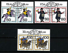 Bundespost 1437 - 1439 gestempelde paren