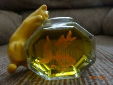 Avon Vintage Perfume Bottle Curious Kitty on Fishbowl