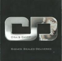 Craig David – Signed Sealed Delivered CD Universal Music 2010 NEW