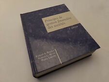 Principes de gestion financière des sociétés 2e éd. Brealey Myers Laroche 1992