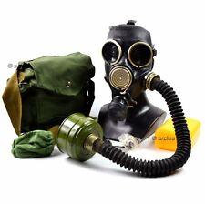 Soviet gas mask GP-7V. full set + black rubber hose. New full equipment. Size M