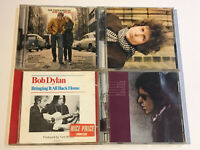 BOB DYLAN CD MUSIC ALBUM BUNDLE FREEWHEELIN BLONDE ON BLONDE BLOOD ON THE TRACKS