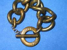 Vince Camuto Super Fine T-Bar Gold Tone Cuff Bracelet Vintage