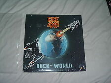 KICK AXE Rock The World '87 LP HAIR metal ORIGINAL US 1st press UNPLAYED SEALED