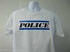 Thin Blue Line Police T-Shirt, Your Choice of Colors, Free Shipping in USA