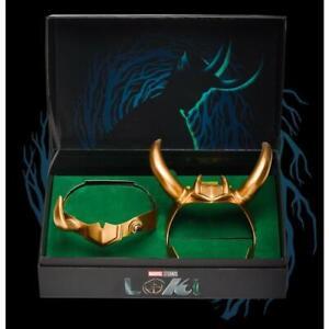 Marvel Loki Horned Helmet Set GameStop Limited Edition #/6000