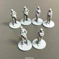 LOT 6 PCS LADY Figure For Dungeons & Dragon D&D Board  Game  Miniatures #N