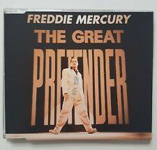 "QUEEN // FREDDIE MERCURY : THE GREAT PRETENDER (MAXI-CD) + REMIX ""LOVE KILLS"""