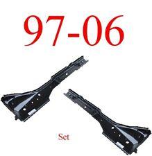 97 06 Jeep Wrangler TJ Torque Box Floor Support Set, Left & Right Sides Pair