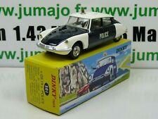 DT8E Voiture réédition DINKY TOYS atlas : 501 Citroën DS19 Police