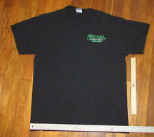 """Santana Concert T-Shirt Authentic Local Crew from Corazon Tour Rare """"L"""" 1-Sided"""