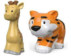 Little People Fisher Price Zoo Animal Figures 2 Pack - Giraffe & Tiger