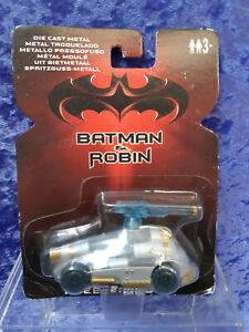 Kenner 1997 Die Cast Batman and Robin Freeze-Mobile MOC 1/50