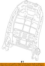 CHRYSLER OEM Seat Track-Seat Back Frame Right 68260532AC
