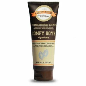 Comfy Boys Chocolate - #1 Intimate Deodorant Men 4oz Grooming Routine Companion